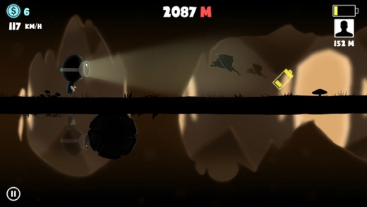 Lamphead - Outrun the Darkness Screenshot