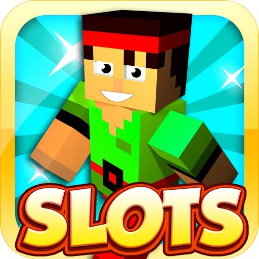Blocky Spin & Win Slots iOS App