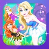 Bell Princess Fairy Dress Up : Frozen Snow Makeover Games for Girls Free