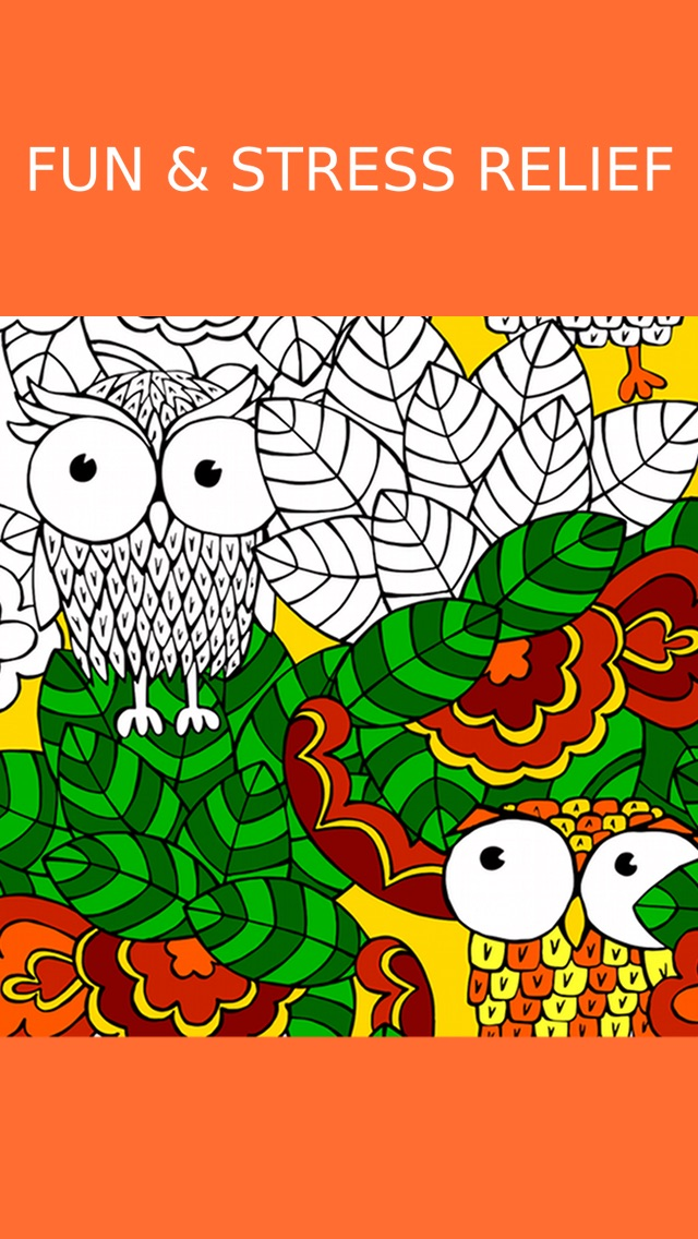 Owl Coloring Book For Adults Free Fun Adult Coloring