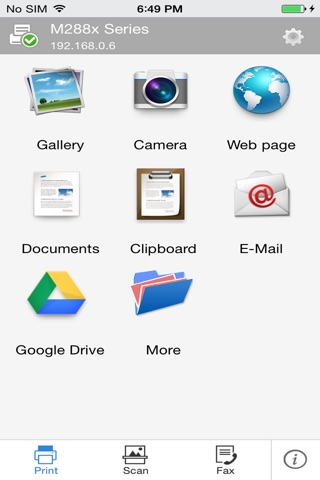 Samsung Mobile Print screenshot 1