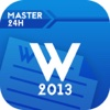 Master in 24h for Microsoft Office Word 2013