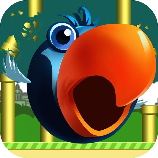 Flappy Rival-The Adventure Of Two Fat Bird Fun Free Games iOS App