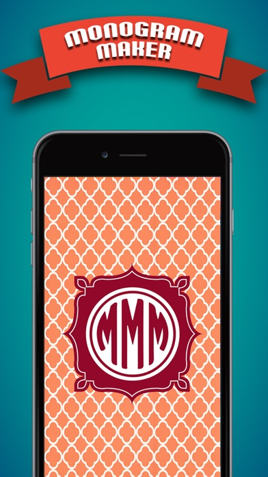 magic monogram wallpaper maker engrave your name on