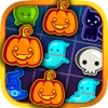 Cats & plions écrasement Halloween jeu de bulle de zombies