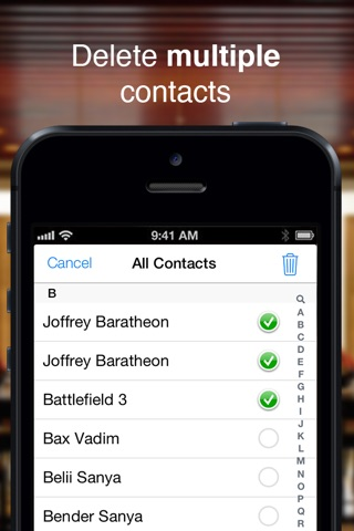 Clean My Contacts PRO screenshot 2