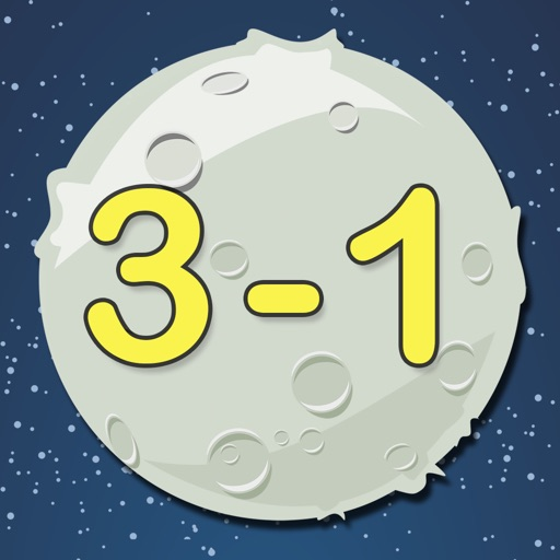 """Minus Defence HD - """"Math in Space"""" Learning Series Icon"""