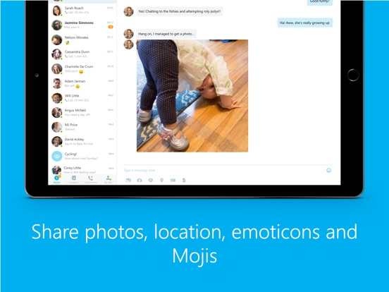 Skype New Version  2014 For Ipad