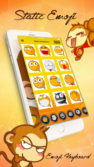 download Emoji Love PRO - Animated Funny Emoticons - Cool Characters & Emoji Keyboard Icons & Emojis Stickers for Chatting apps 3