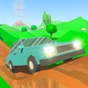 Pixel Car Up Hill Race 3D