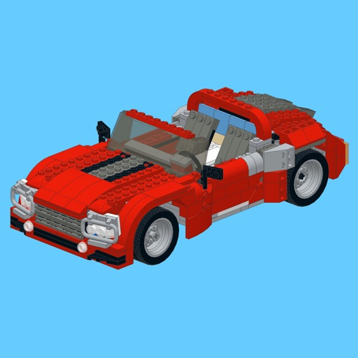 Roadster For Lego Creator 7347 Set Building Instructions App