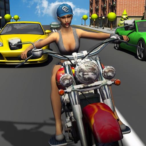 Girl Friend need for Bike Racing iOS App