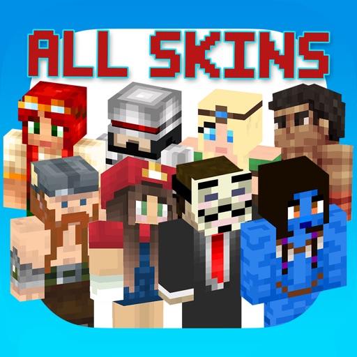 All Skins for PE - Best Skin Simulator and Exporter for Minecraft Pocket Edition Lite iOS App