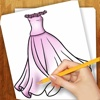 Easy To Draw Dresses For Dolls
