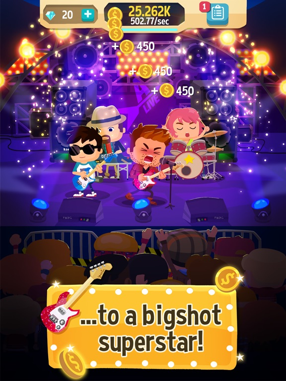 Beat Bop: Pop Star Clicker для iPad