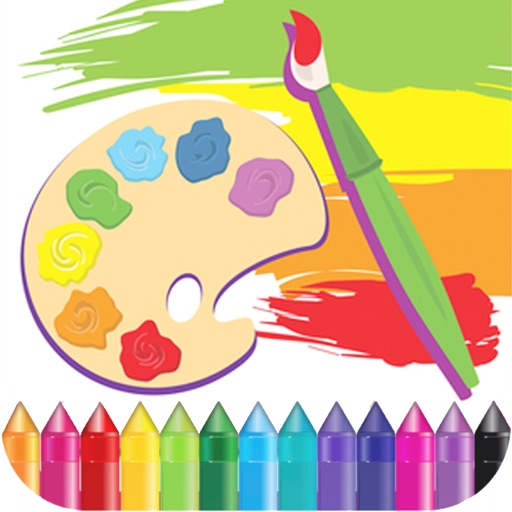 Animals Coloring Draw Paint For Kids