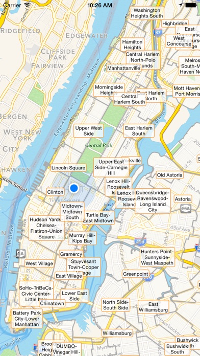 NYC Tourist Map Travel Map For New York City On The App Store - New york map