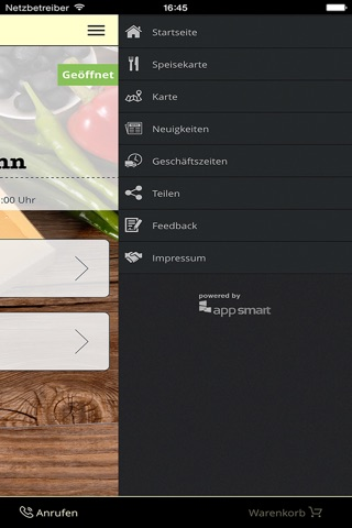 pizza mann Augsburg screenshot 2