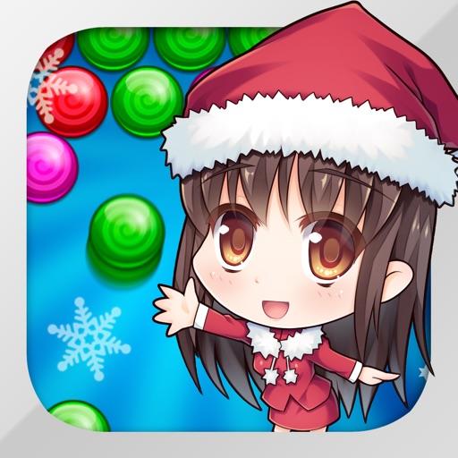 Bubble Shooter Cute Santa iOS App