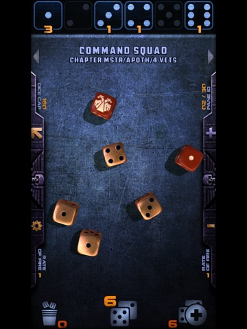 Warhammer 40,000: Assault Dice на iPad