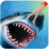 Angry Shark 3D. Attack Of Hungy Great White Terror on The Beach