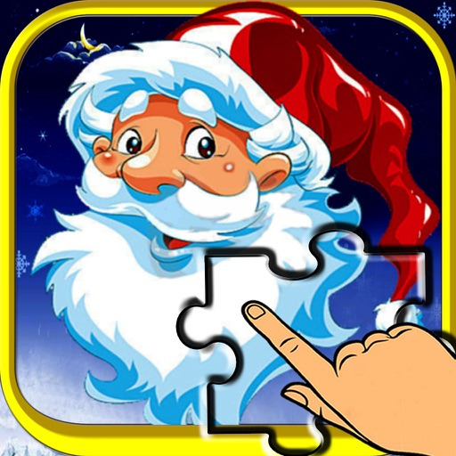 Christmas Slide me Puzzle - Santa Claus, Snowman, and Reindeer Jigsaw Puzzles for Boys,Girls & Toddlers HD iOS App