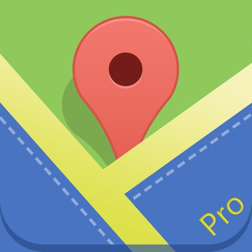 Offline Maps Pro - for Google Edition with Directions and Offline POI Search