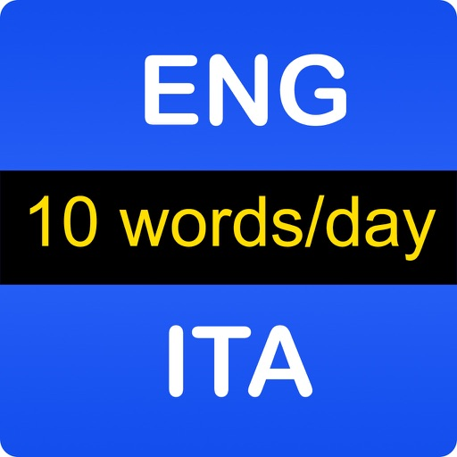 English Italian Vocabulary iOS App