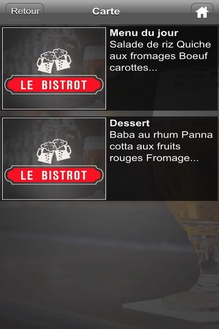 Le Bistrot screenshot 3