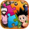 "Jigsaw Manga & Anime Hd  - "" Japanese Puzzle Cartoon Collection For Hunter x Hunter Edition """