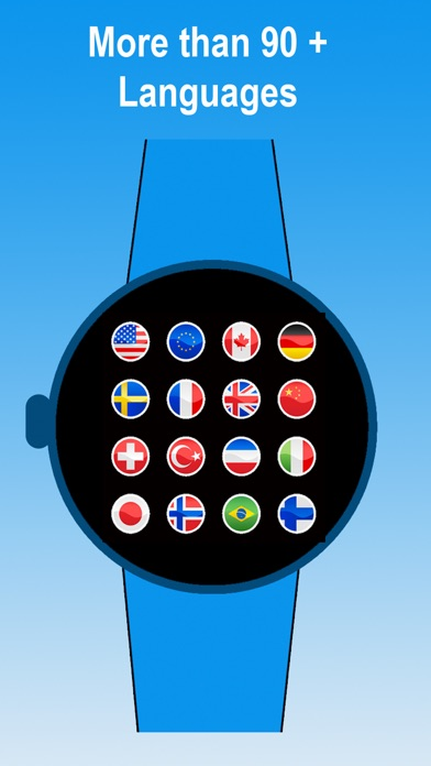 download Watch Translator pro - Voice Translate to 90 languages by speaking to the Watch via dictation apps 1