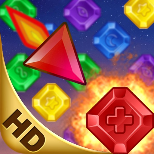 Jewel Shooting HD iOS App