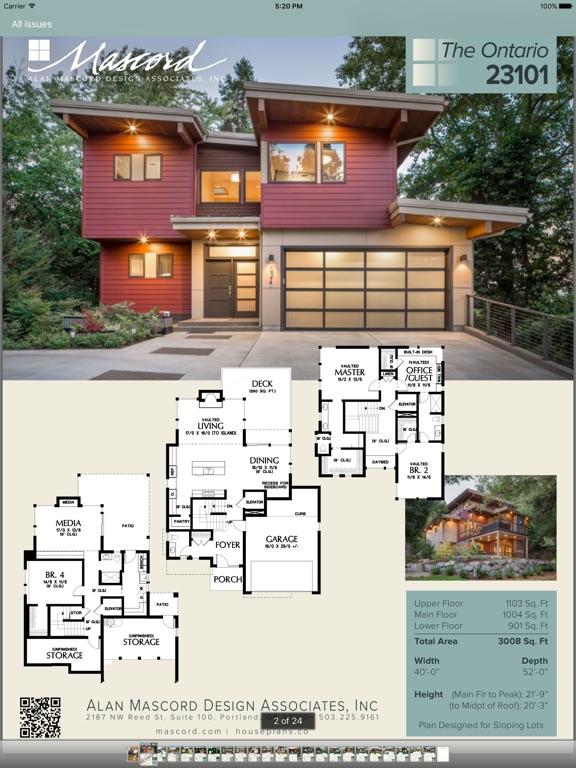 Mascord house plans on the app store House plan app