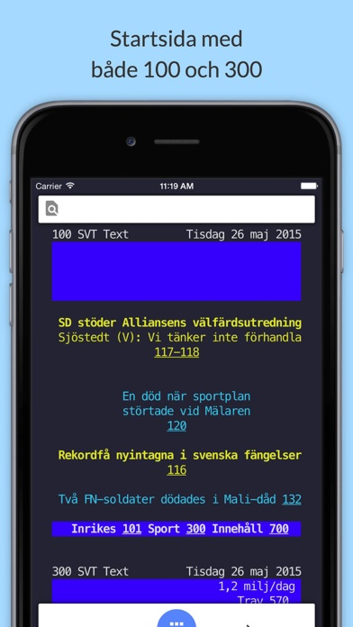 download SVT Text TV från TextTV.nu apps 1