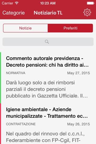 Notiziario TL screenshot 3