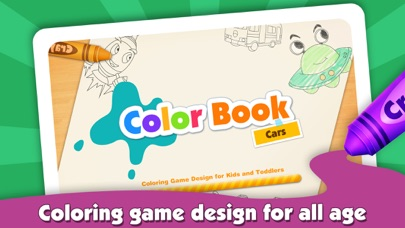download Kids Color Book: Cars - Educational Coloring & Painting Game Design for Kids and Toddler apps 1
