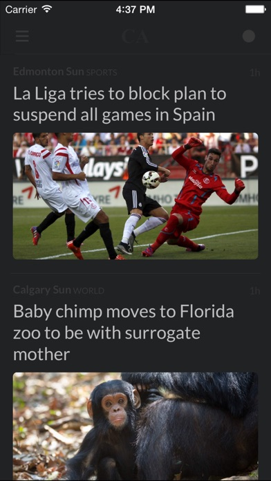 Newspapers Ca review screenshots