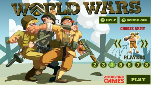 World Wars From Addicting Games On The App Store - Us map game addicting games