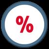 Umsatzsteuer und Prozentrechner - Steuern Brutto Netto Rechner