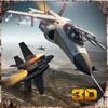 F18戦闘機のジェット飛行3D
