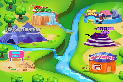 Baby Outdoor Adventure - Kids Town Mini Games Care Center screenshot 2