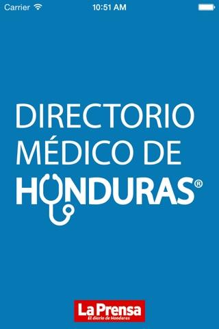 Directorio Médico de Honduras screenshot 1