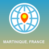 Martinique, France Map - Offline Map, POI, GPS, Directions