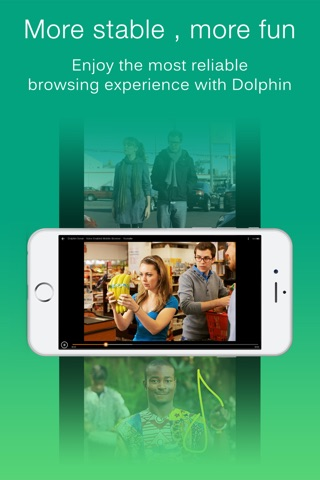 Dolphin Web Browser Pro –Secure Search Explorer screenshot 2