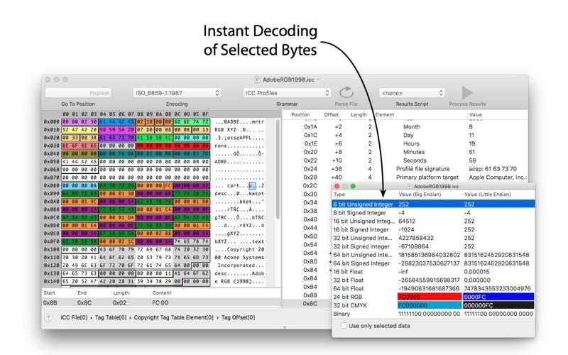 Synalyze It! Pro Screenshots