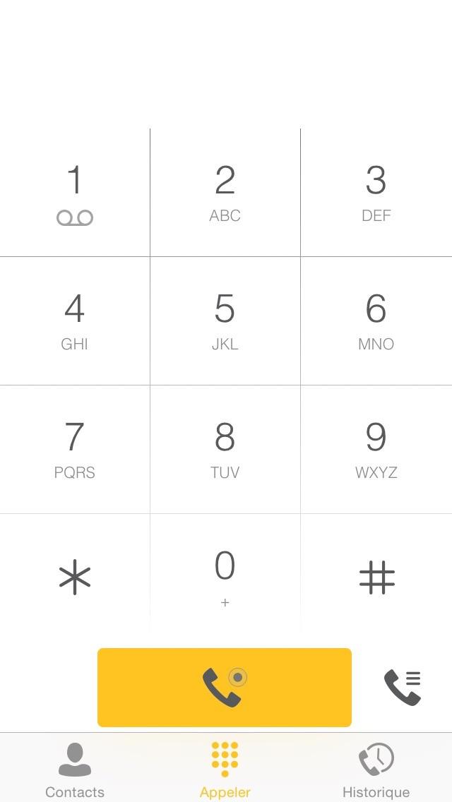 Capture d'écran de FreePhone Business2