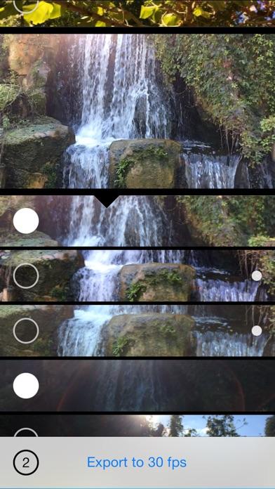 Screenshot #2 for Slomo+ Your Slow Motion Video Converter