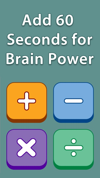 download Add 60 Seconds for Brain Power -  Addition Free apps 0