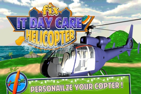 Fix It Day Care Helicopter screenshot 1
