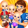 Cheerleader Baby Salon Spa - Candy Food Cooking Kids Maker Games for Girls!
